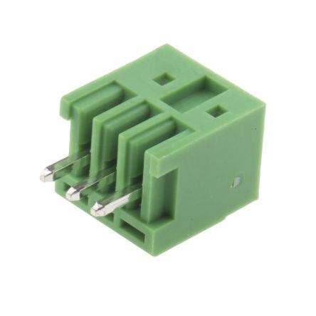 RS PRO , 3 Way, 1 Row, Straight PCB Header (5)