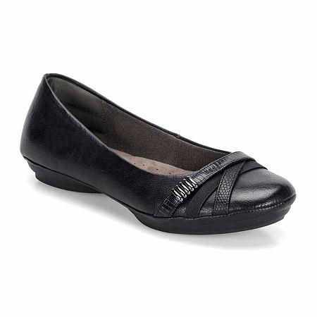 Eurosoft Shaina Slip-On Shoes, 7 Medium, Black