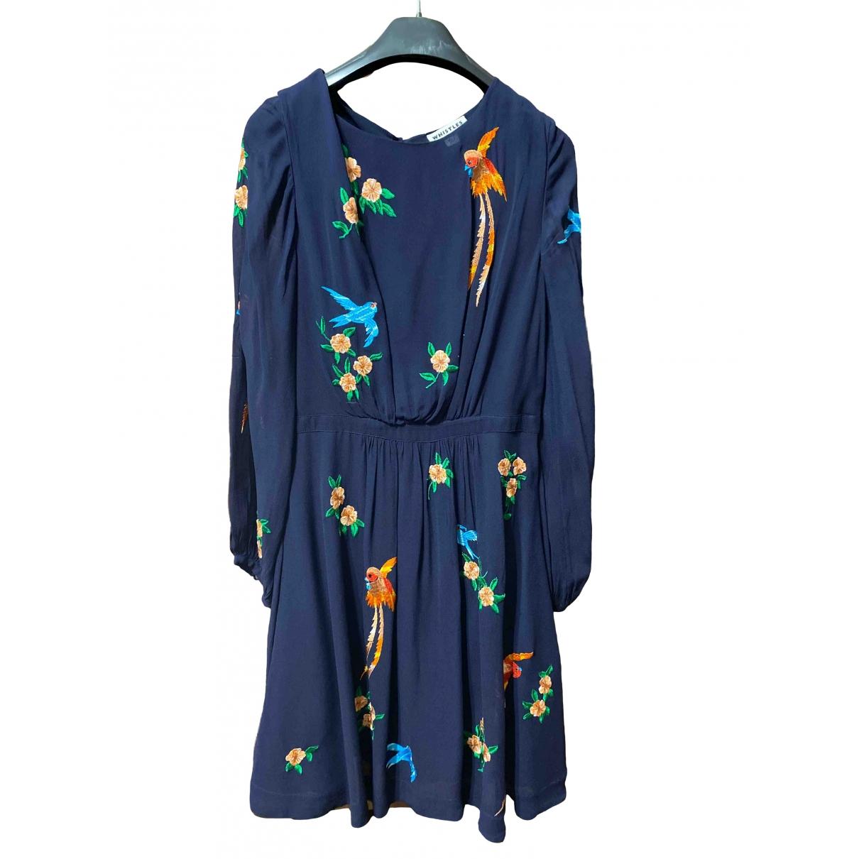 Whistles \N Blue dress for Women 6 UK
