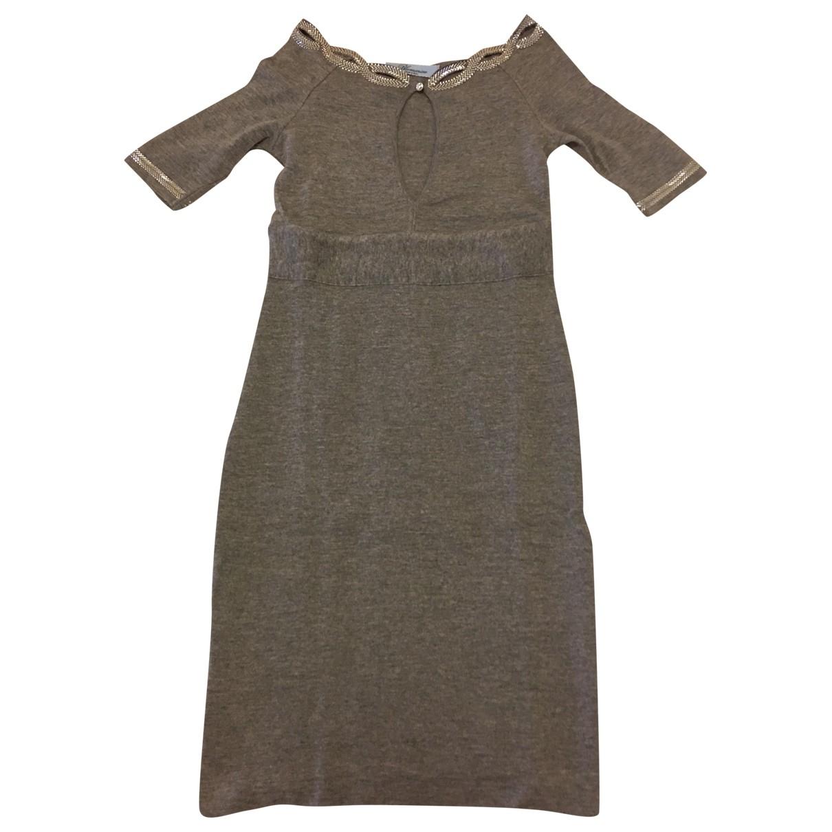 Blumarine \N Grey Wool dress for Women 38 IT