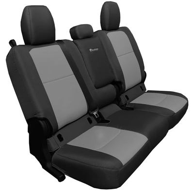 Bartact Tactical Series Rear Bench Seat Cover (Black/Graphite) - JTSC2019RFBG