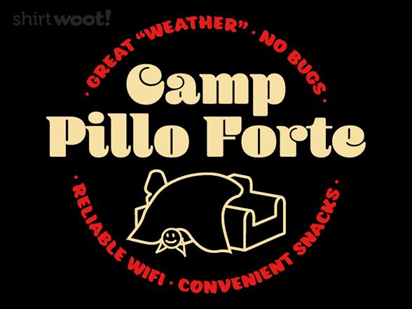 Camp Pillo Forte T Shirt