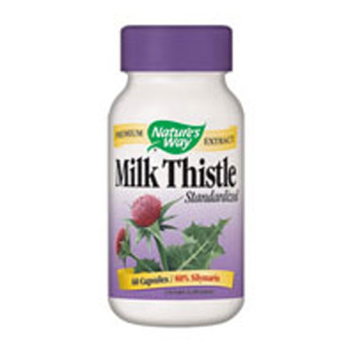 Milk Thistle Standardized Extract Veg Caps, 120 Vcap by Nature's Way