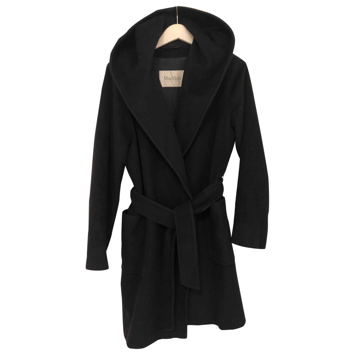 Max Mara \N Navy Wool coat for Women 42 FR