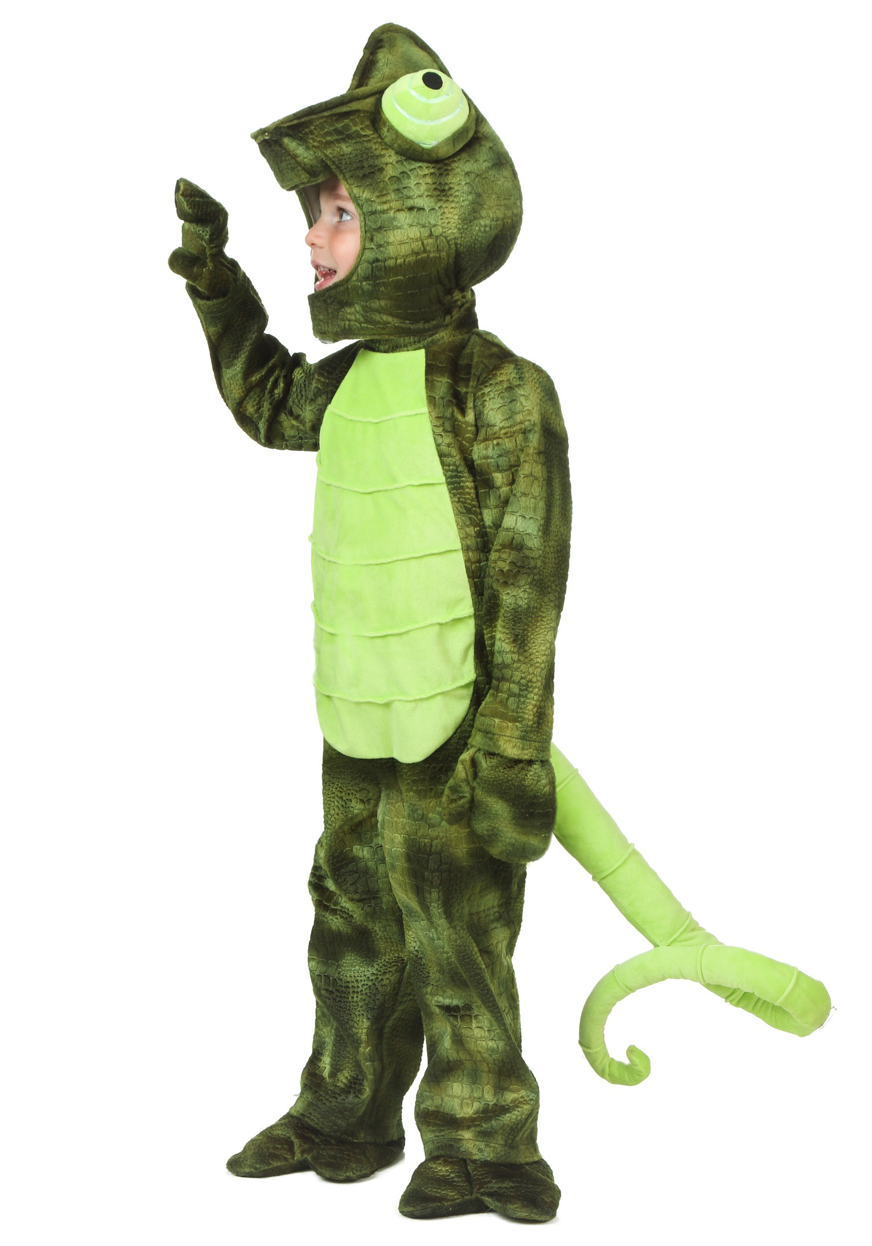 Child Chameleon Costume   Lizard Costume for Kids