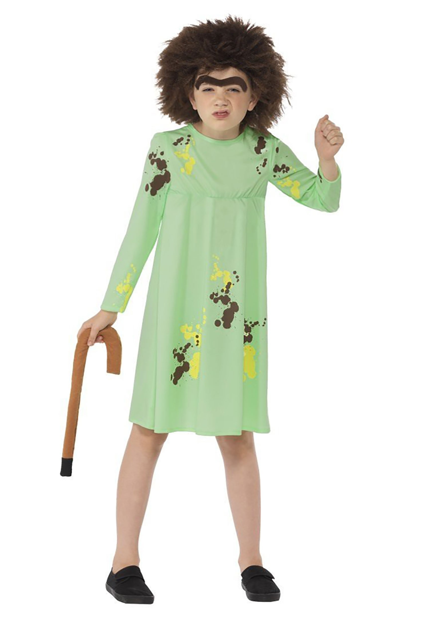 Roald Dahl The Twits Kids Mrs. Twit Costume