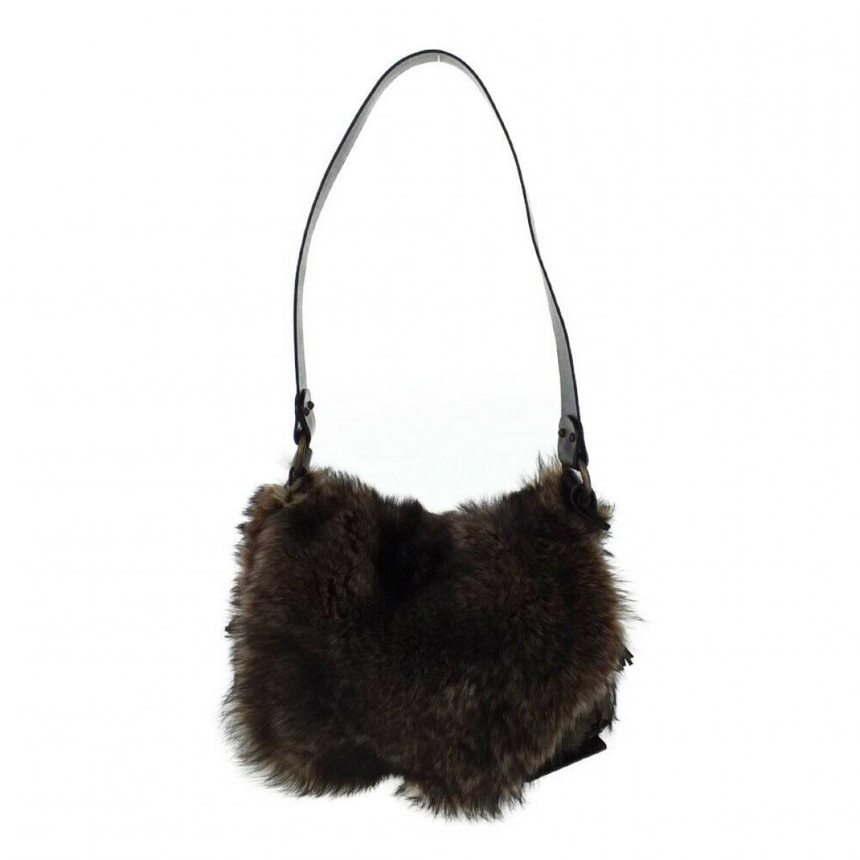 Dolce & Gabbana \N Brown Suede handbag for Women \N