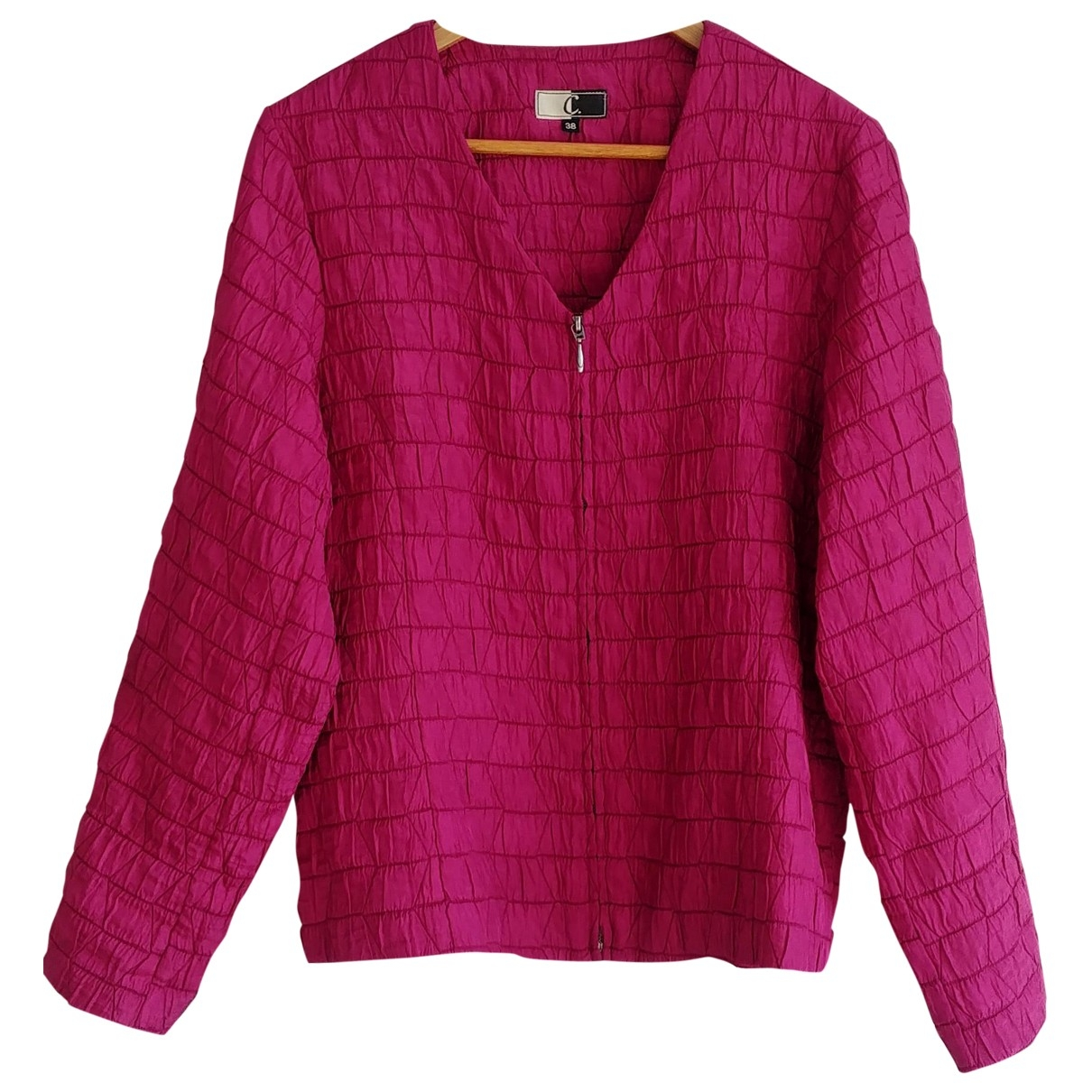 Non Signé / Unsigned \N Pink jacket for Women M International