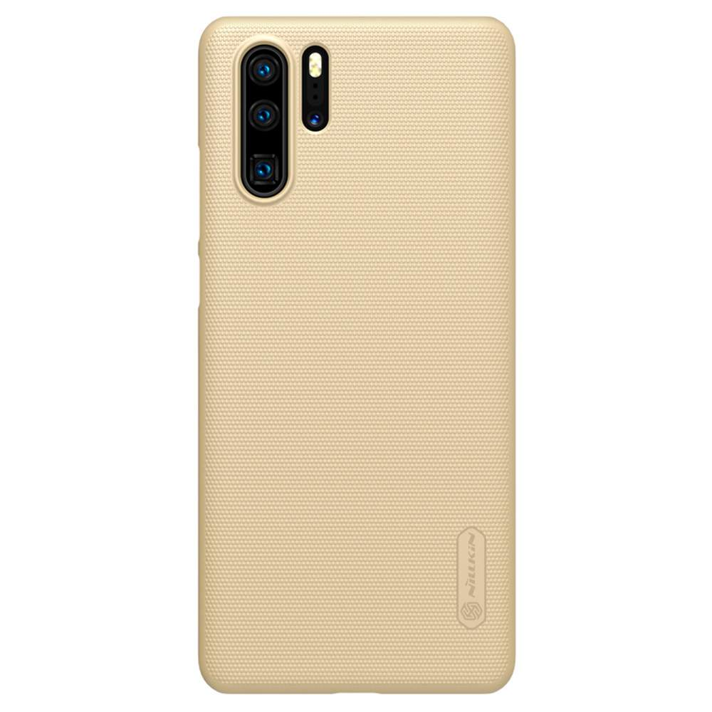 NILLKIN Protective Frosted PC Phone Case For HUAWEI P30 Pro Smartphone - Gold