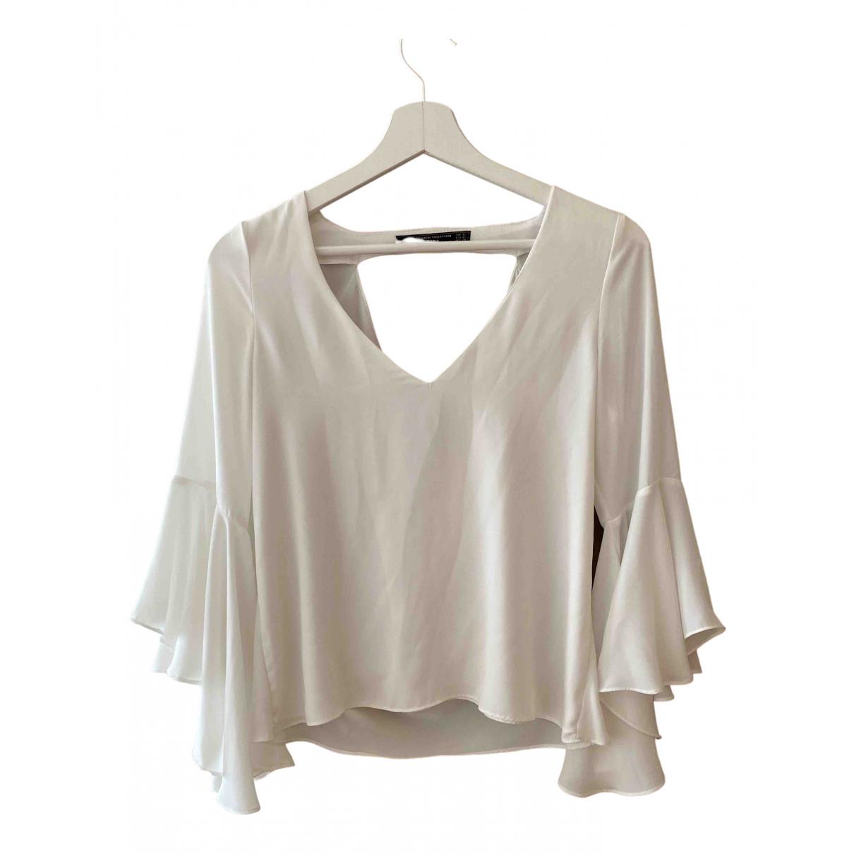 Zara \N White  top for Women XS International