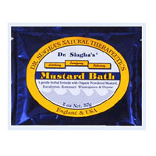 Mustard Bath 16 Oz by Dr. Singhas Mustard Bath