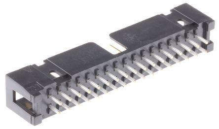 3M , 2500, 34 Way, 2 Row, Straight PCB Header