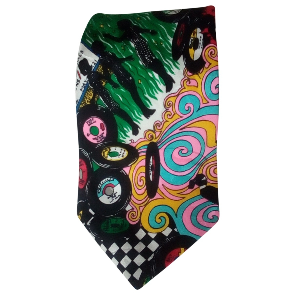 Non Signé / Unsigned \N Multicolour Silk Ties for Men \N