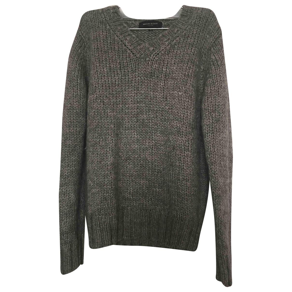 Bruuns Bazaar \N Grey Wool Knitwear for Women S International