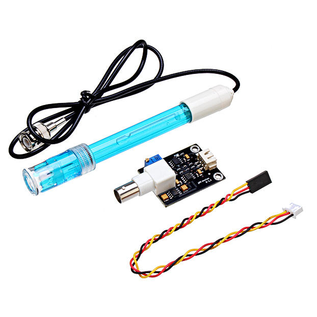 PH Sensor Module V1.1 + PH Probe For AVR 51 PH Shield with MSP430 Test Code Sensor Geekcreit for Arduino - products that
