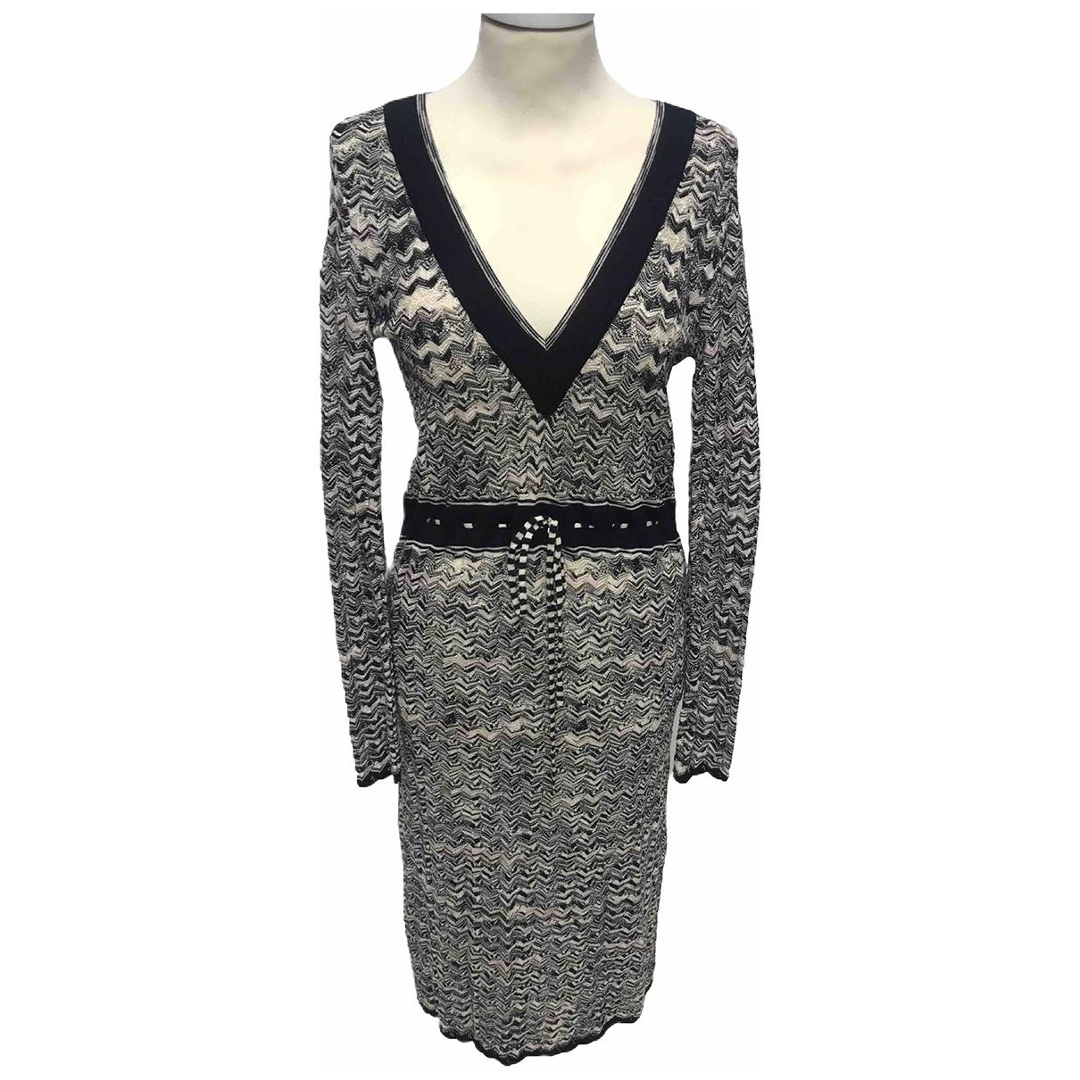 M Missoni \N Multicolour Wool dress for Women 42 IT