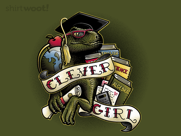 Clever Girl T Shirt