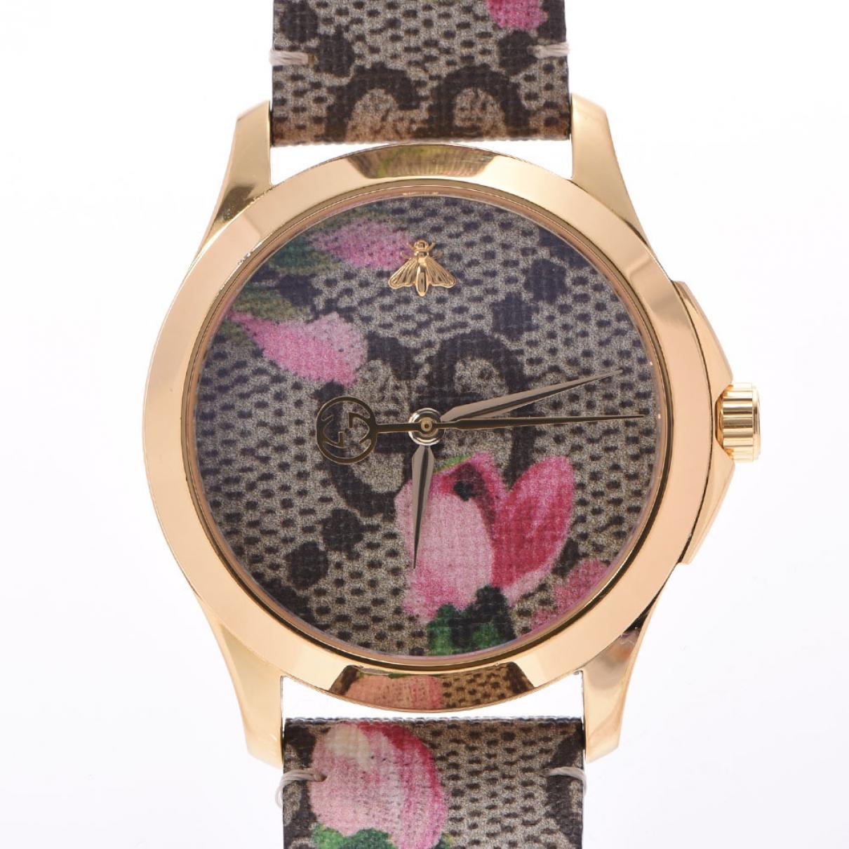 Gucci G-Timeless Silver Steel watch for Women \N