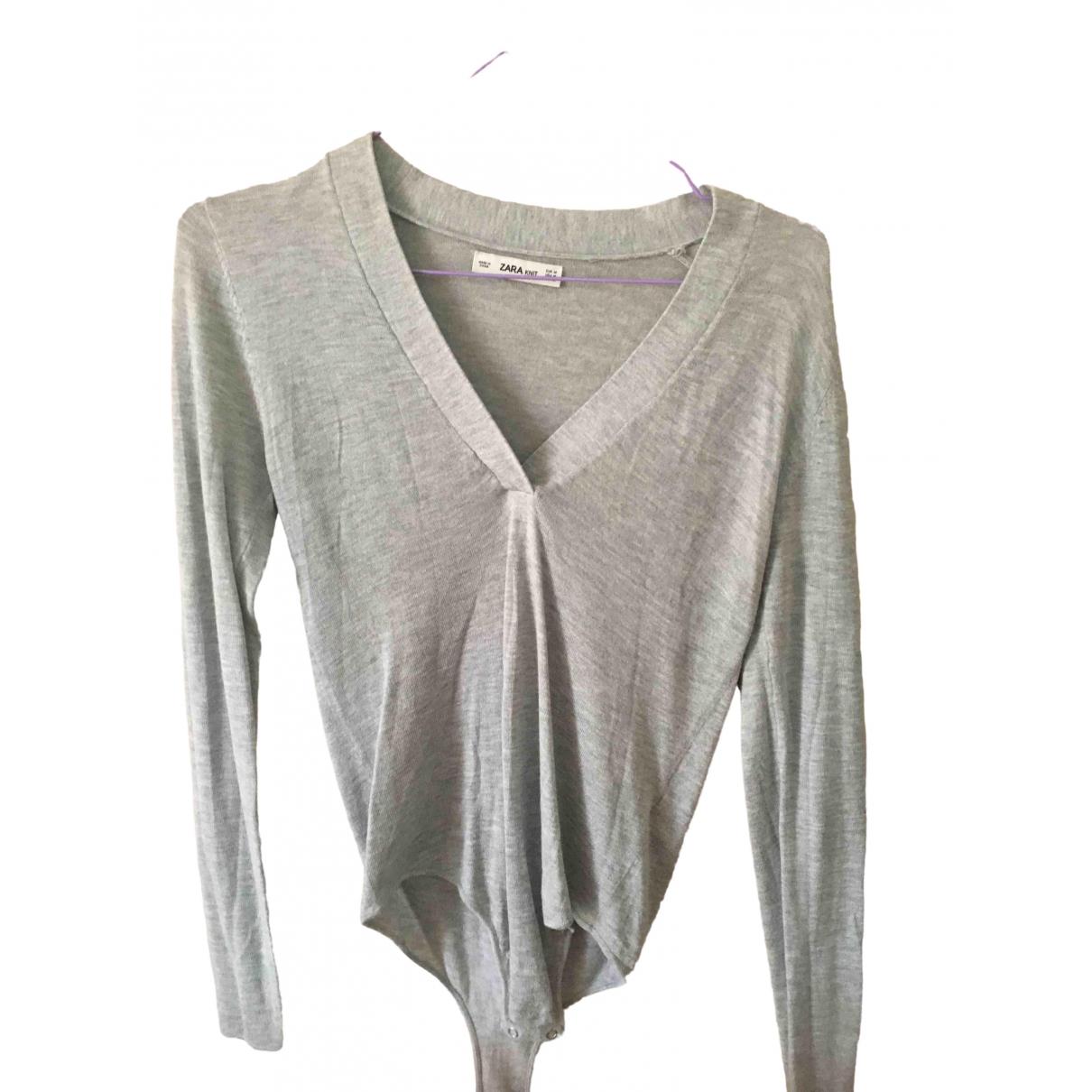 Zara \N Grey  top for Women S International
