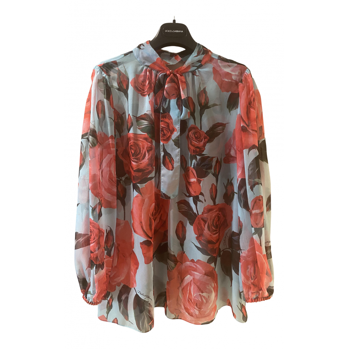 Dolce & Gabbana \N Multicolour Silk  top for Women 44 IT