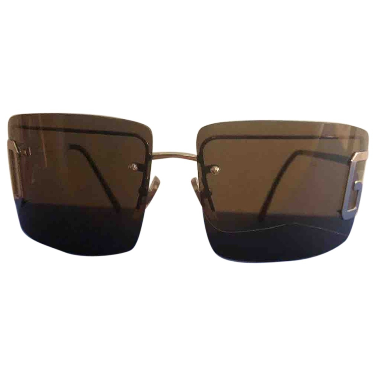 Dolce & Gabbana \N Anthracite Metal Sunglasses for Women \N