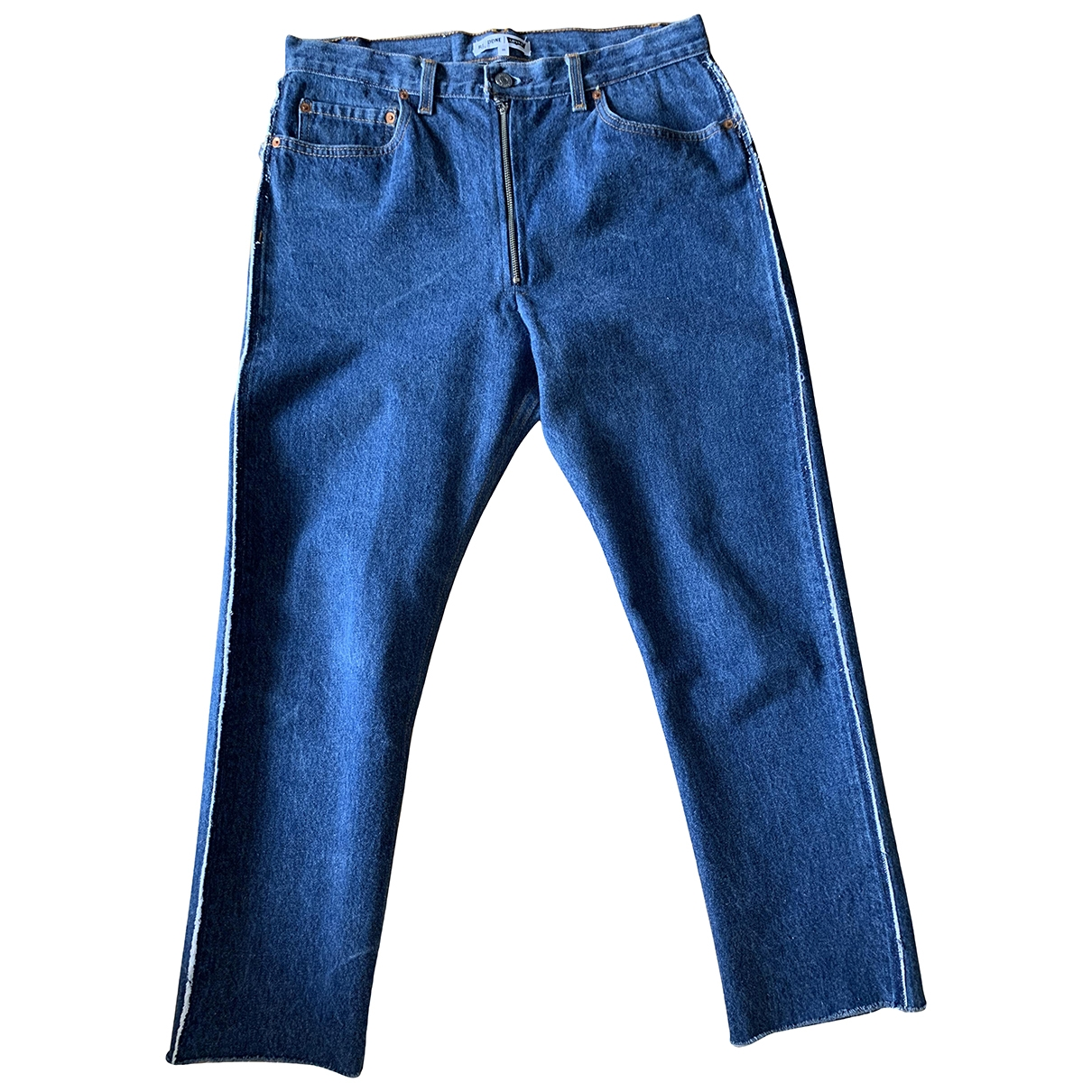 Re/done X Levi's \N Blue Cotton Jeans for Women 30 US