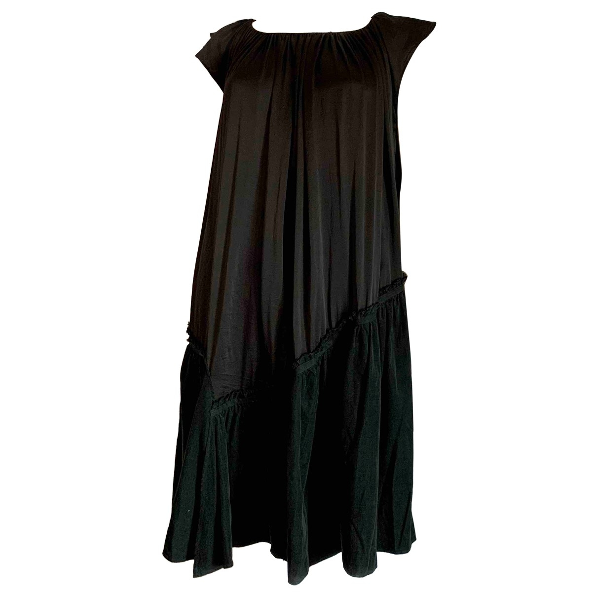 8pm \N Black Silk dress for Women M International
