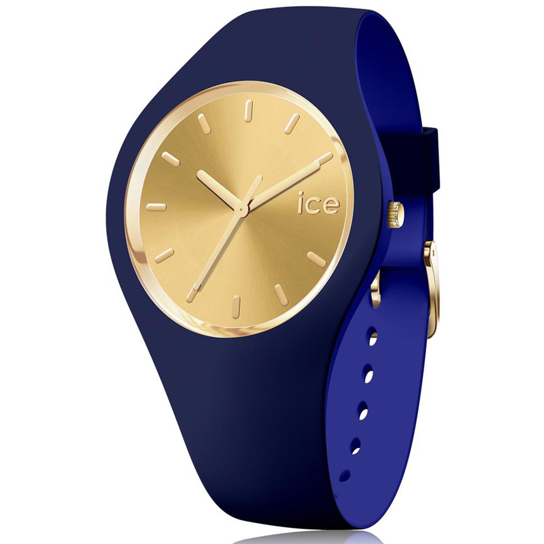 Ice-Watch Women's Duo Chic 016986 Blue Silicone Quartz Fashion Watch