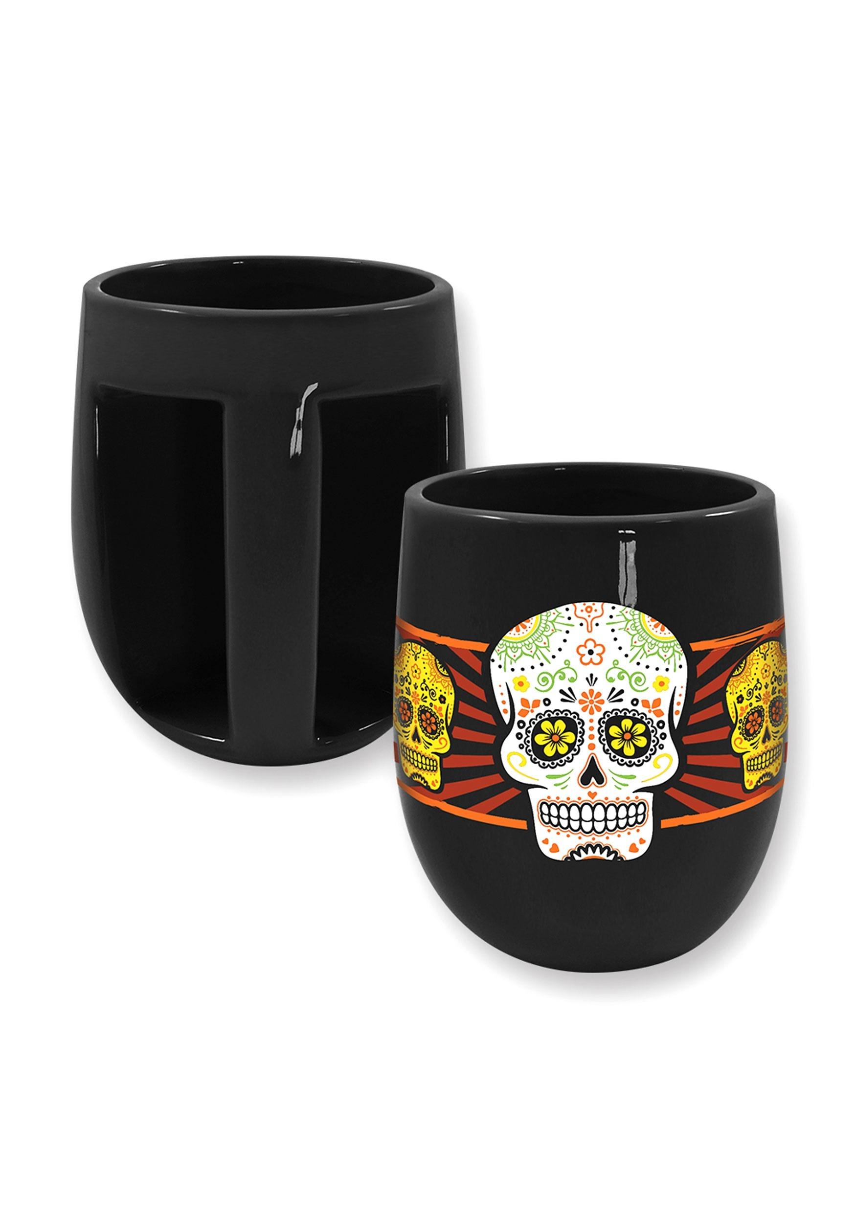 Sugar Skull 19oz Wrap Mug