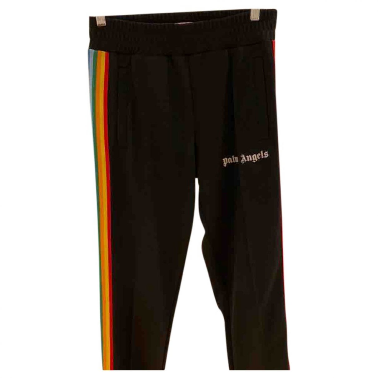 Palm Angels \N Black Trousers for Men S International