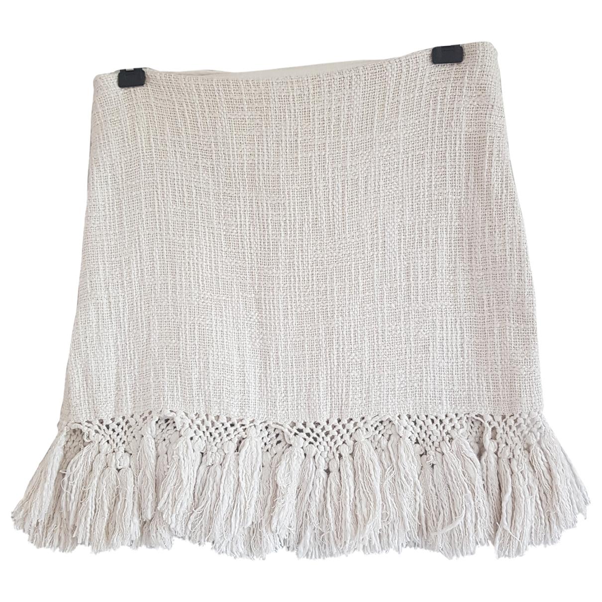 Mes Demoiselles ... \N White Cotton skirt for Women 40 FR