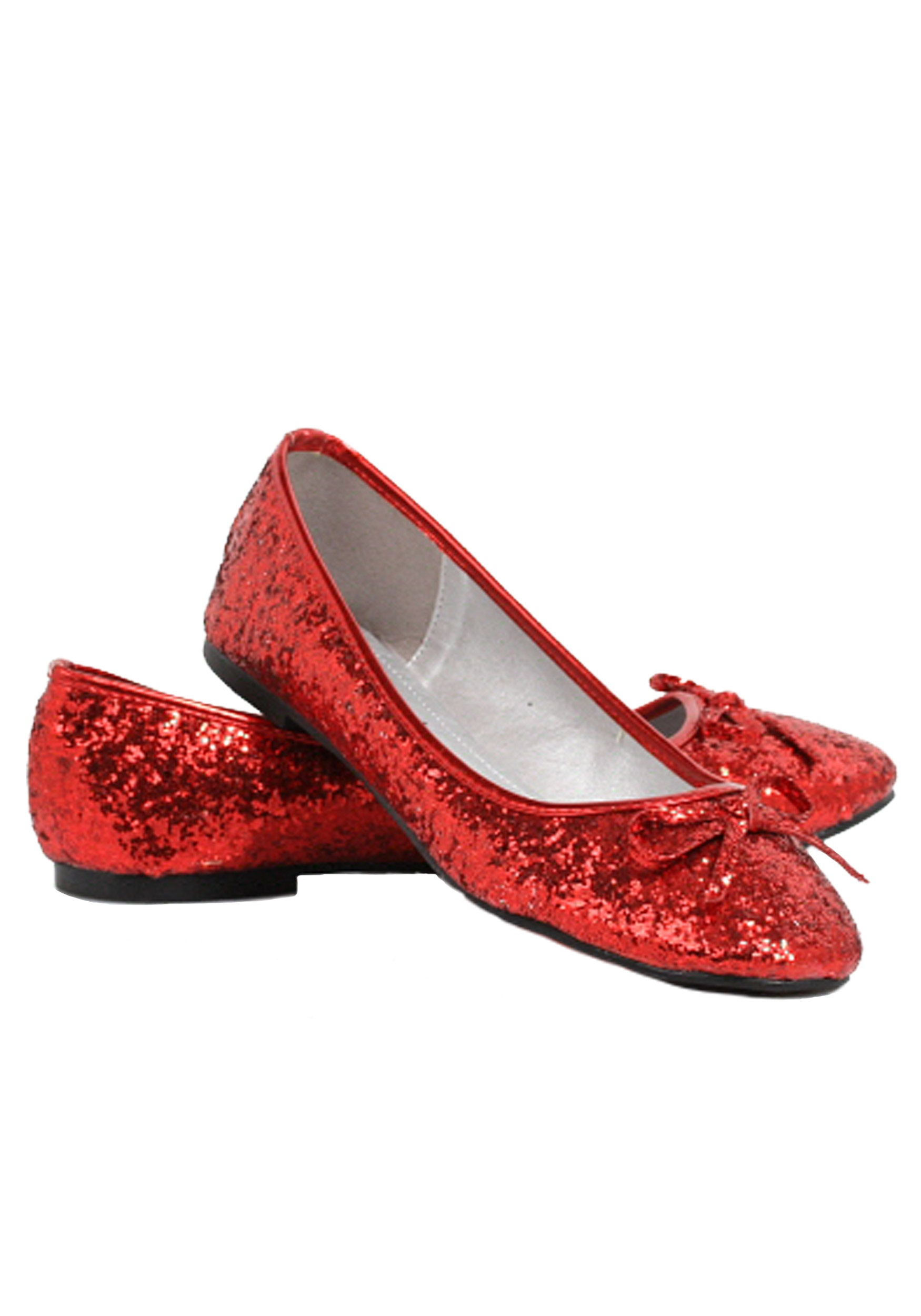 Women's Red Glitter Flats   Red Sparkly Shoes   Women's Shoes