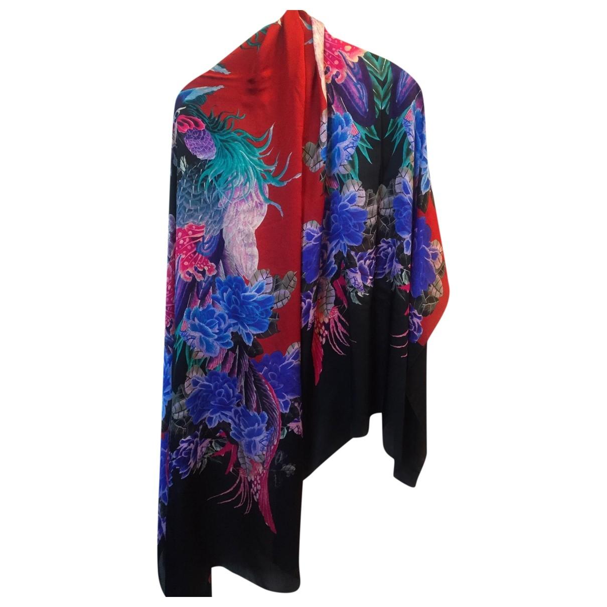Just Cavalli \N Multicolour Silk scarf for Women \N