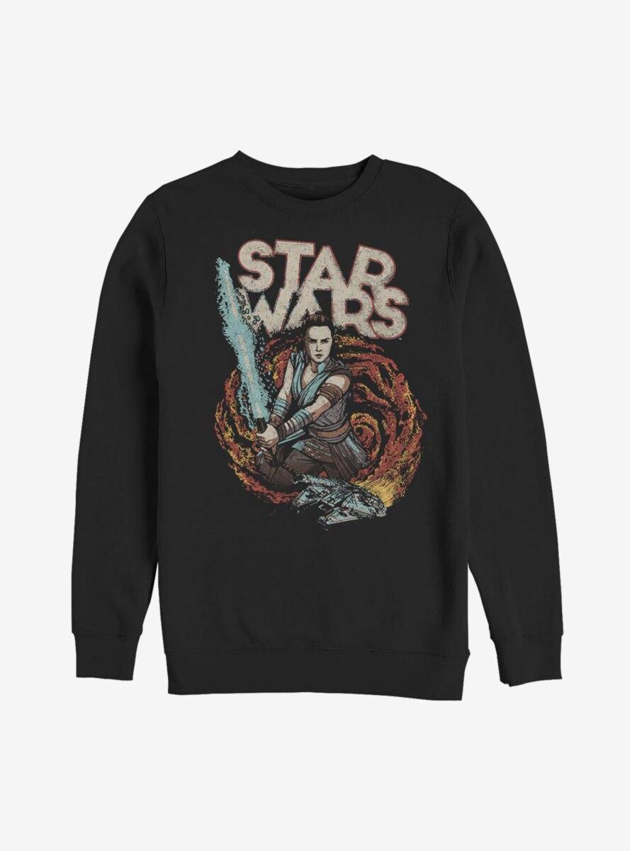 Star Wars Episode IX The Rise Of Skywalker Comic Art Sweatshirt