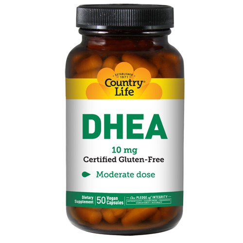 DHEA 50 Caps by Country Life