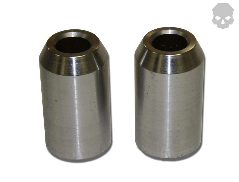 Shock Bungs CNC Turned From 1.0 Inch .250 Wall Pair Ballistic Fabrication MISC-690