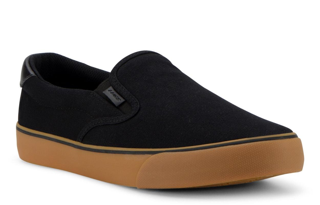 Men's Bandit Oxford Sneaker (Choose Your Color: BLACK/GUM/GUM, Choose Your Size: 8.0)
