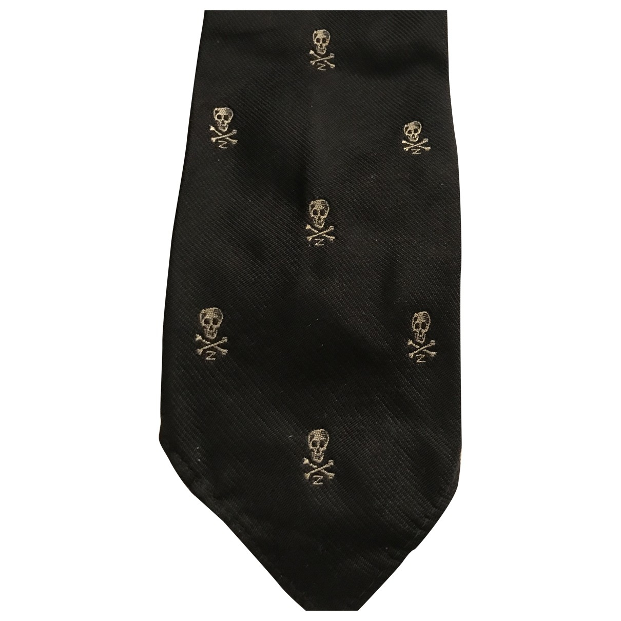 Non Signé / Unsigned \N Black Ties for Men \N