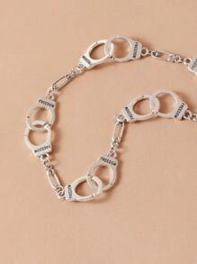 Handcuffs Design Necklace
