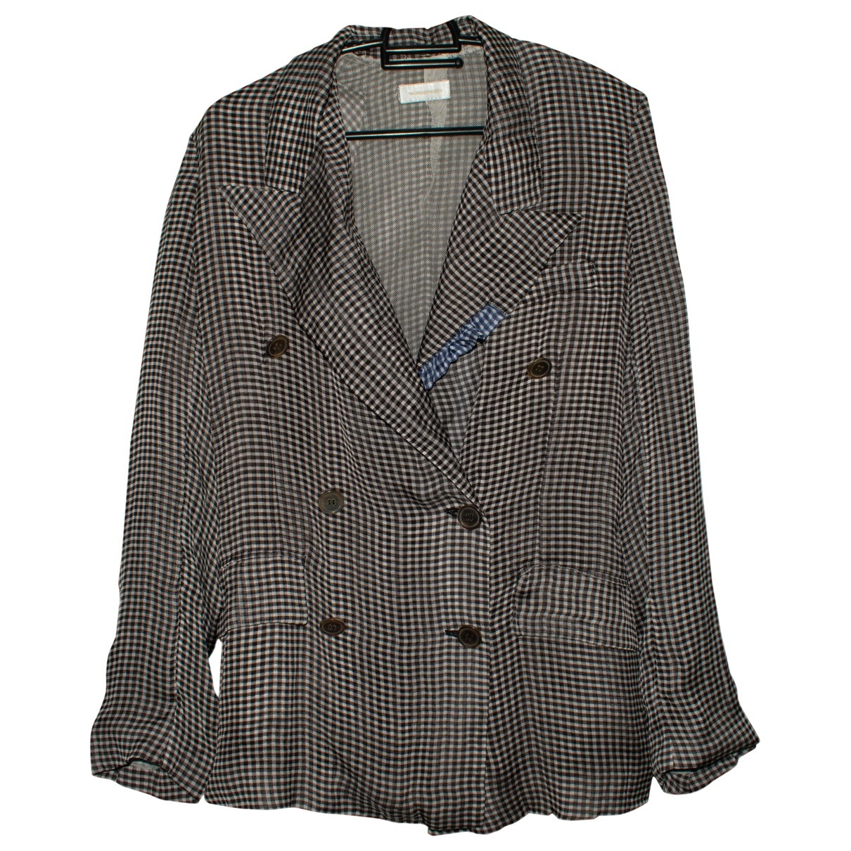 Wunderkind \N Black Silk jacket for Women 38 IT