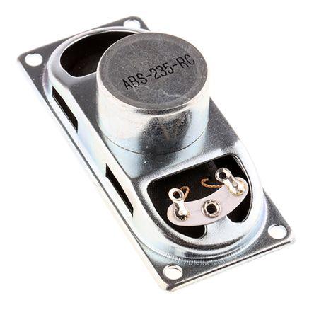 RS PRO 8Ω 2W Miniature Speaker, 70 x 30.5 x 23mm