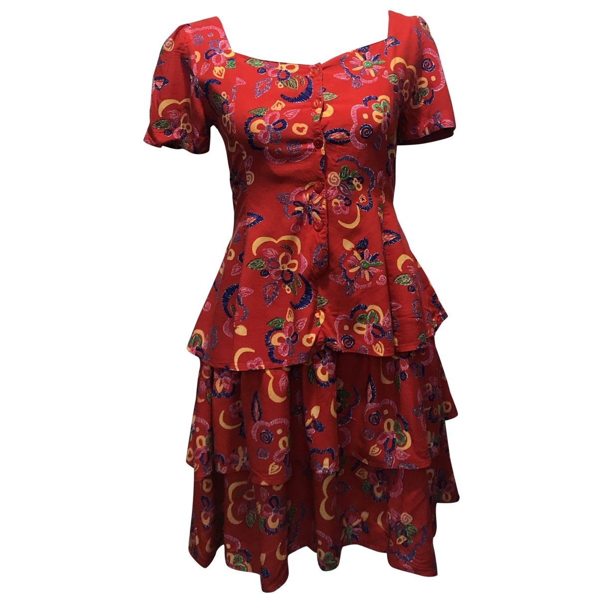 Non Signé / Unsigned \N Multicolour dress for Women S International