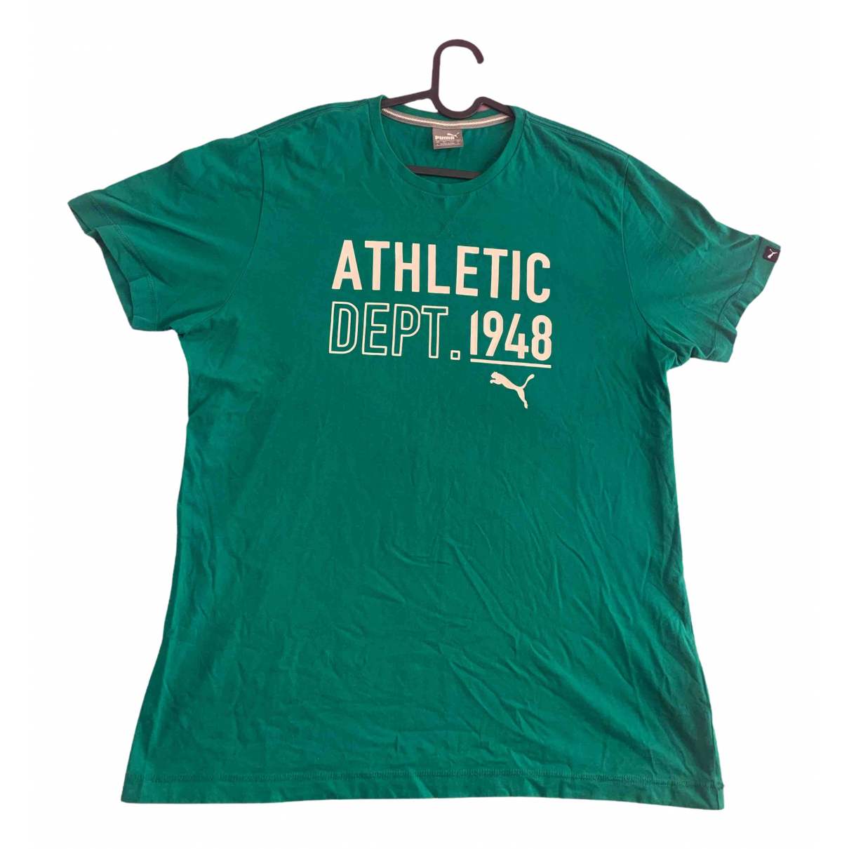 Puma \N Green Cotton T-shirts for Men L International