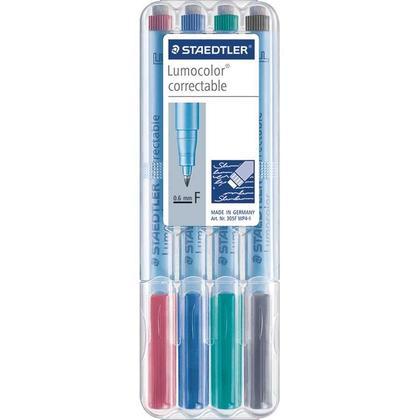 Staedtler@ Lumocolor@ Dry-Erase Correctable Marker 305 - Non-permanent (Fine / Medium) - fine