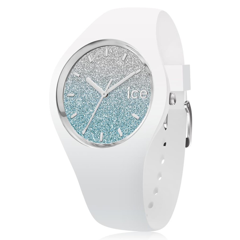 Ice-Watch Women's Lo 013430 White Silicone Quartz Fashion Watch