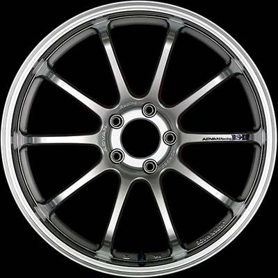 Advan RS-DF Wheel 19x9 5x114.3 35mm Machining & Racing Hyper Silver