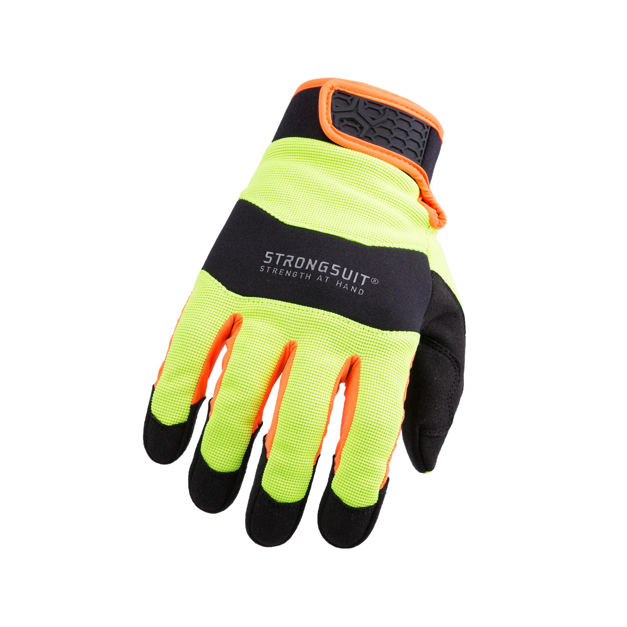 Armor3 HiViz Gloves, Medium