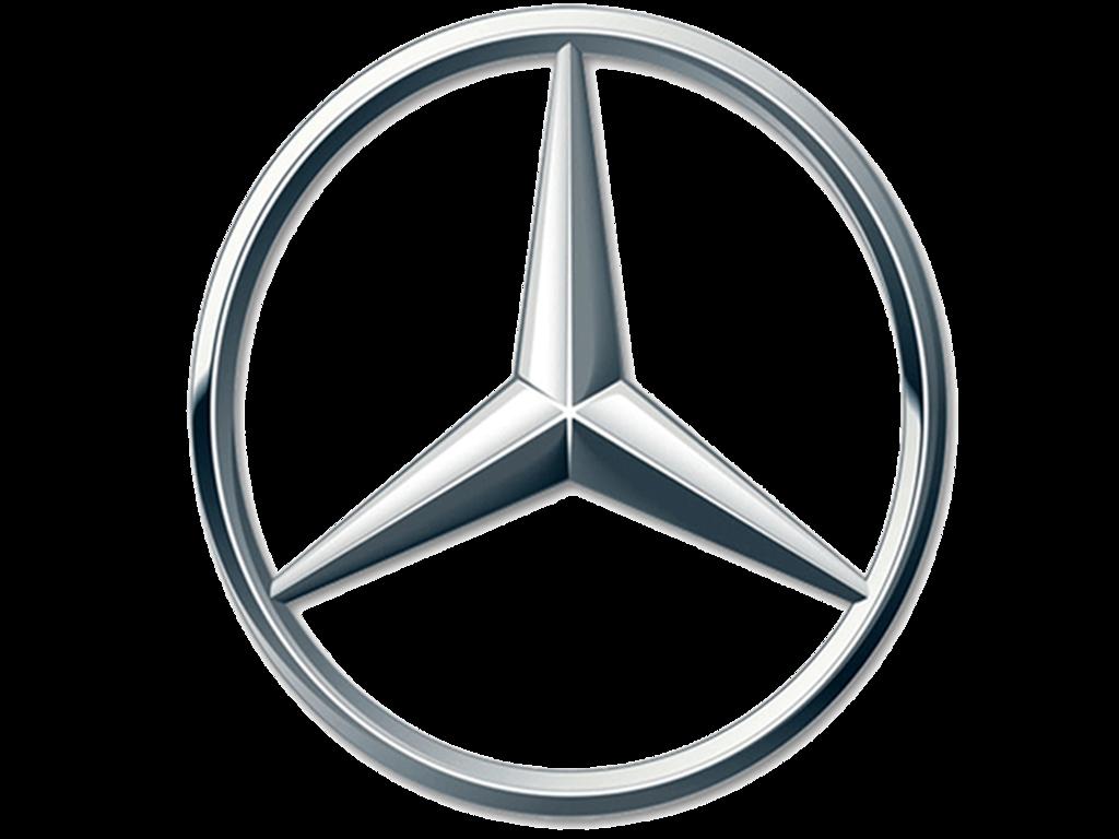 Genuine Mercedes 107-817-14-15 Emblem Mercedes-Benz 560SL 1986-1989
