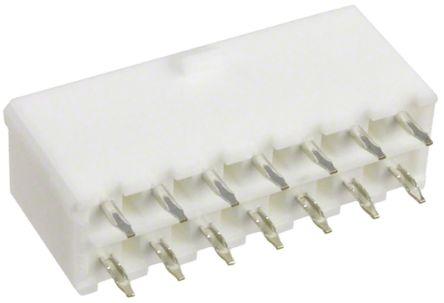 Molex , Mini-Fit Jr, 5566, 14 Way, 2 Row, Straight PCB Header