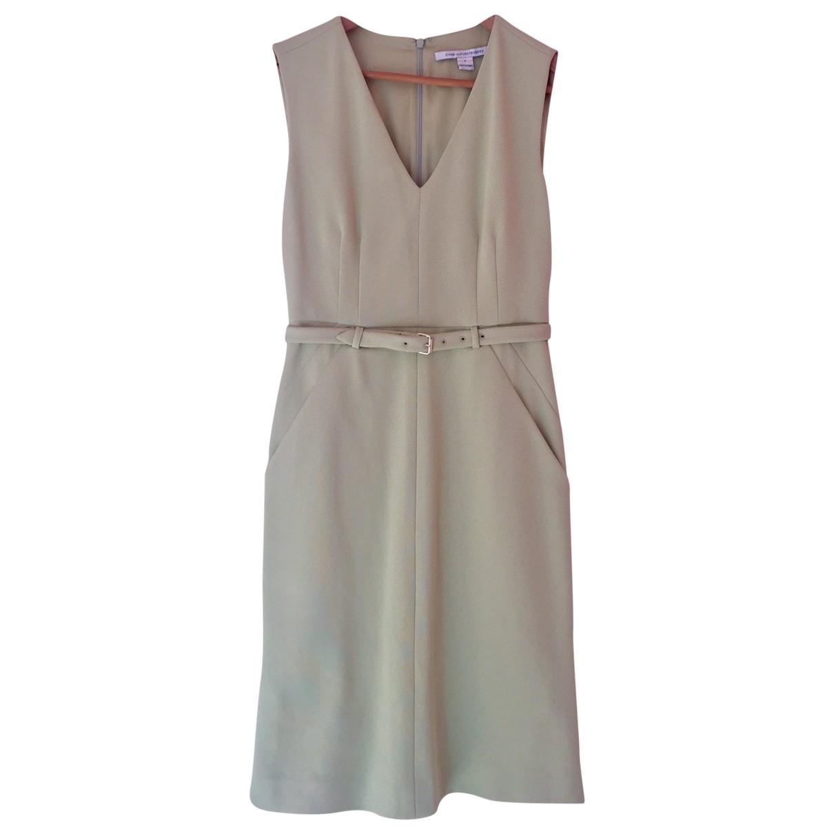 Diane Von Furstenberg \N Green dress for Women 38 FR